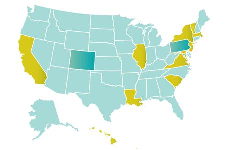 B Corp US Map