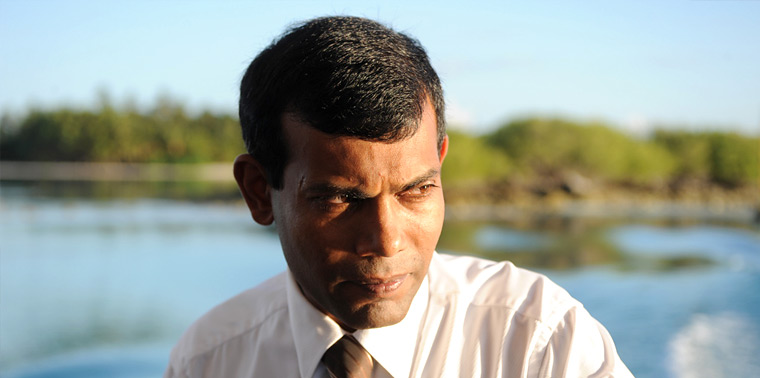 Photo of Mohamed Nasheed