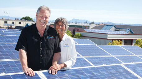 Solar Works founder and president John Parry
