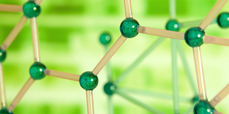 Photo of molecules