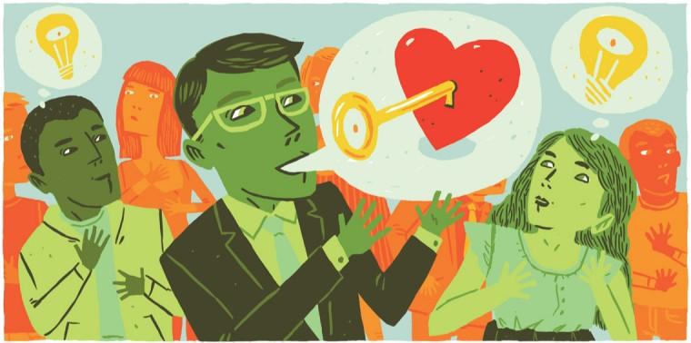 Moral vocabulary conceptual illustration