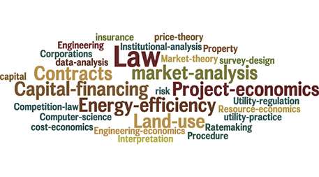 Practical solutions to the barriers of solar power, as shown through a word cloud developed by Fresh Energy.