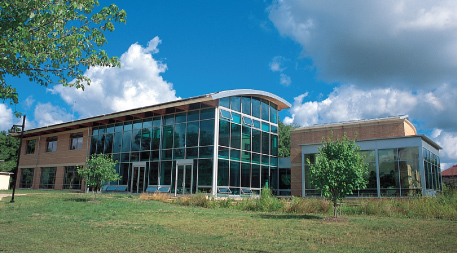 Adam Joseph Lewis Center for Environmental Studies at Oberlin College in Oberlin, Ohio