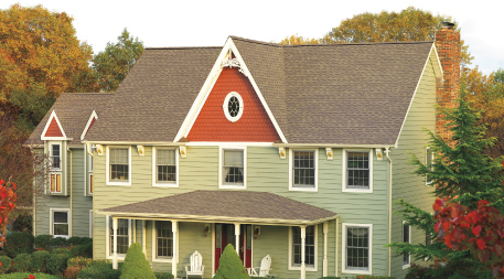 Timberline Cool Series roofing on house