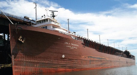 Ore boat Lee A. Tregurtha