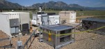 Microgrid equipment at the National Wind Technology Center in Colorado