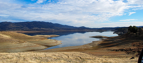 New Hogan Lake, California