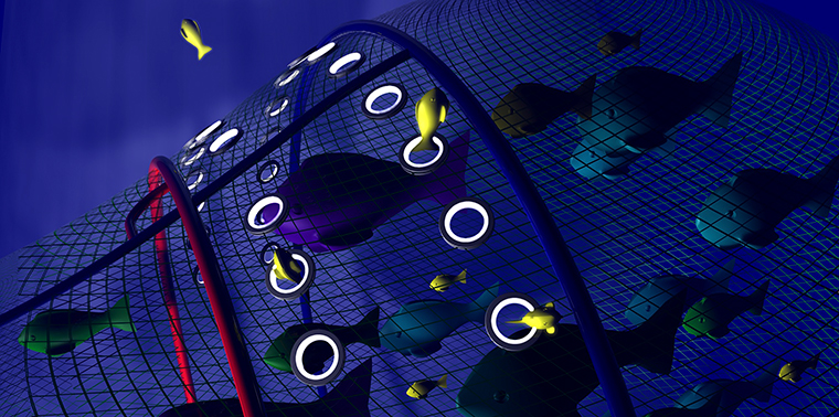 SafetyNet selective fishing net