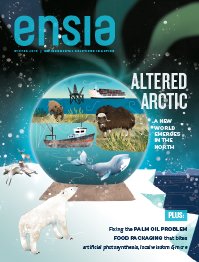 Ensia Winter 2015 Cover