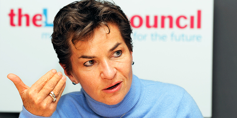 Christiana Figueres: On the road to Paris