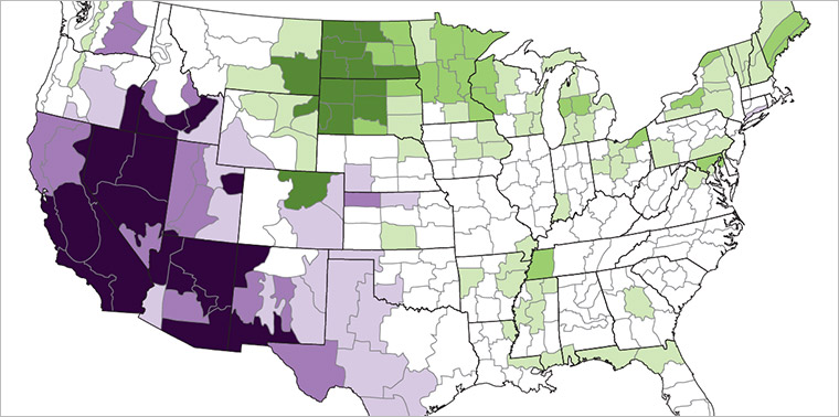 8 Charts And Maps Show Why Drought Will Be A Growing Challenge In The U S Ensia