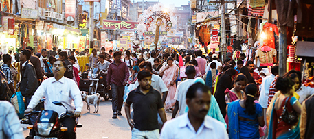 Among the changes since Copenhagen: Human population reached 7 billion. iStock photo © tirc83