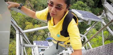 Going to great heights to study the impact of climate change on biodiversity