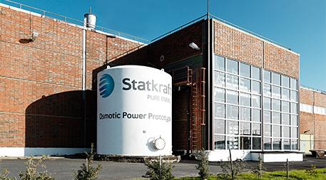 Osmotic power prototype in Norway