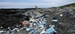 Plastic trash on Kamilo Beach