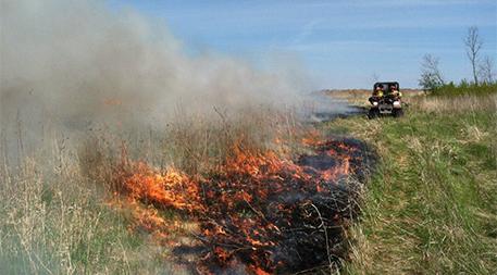 GRNWR prescribed fire