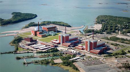 Olkiluoto Nuclear Power Plant in Eurajoki, Finland