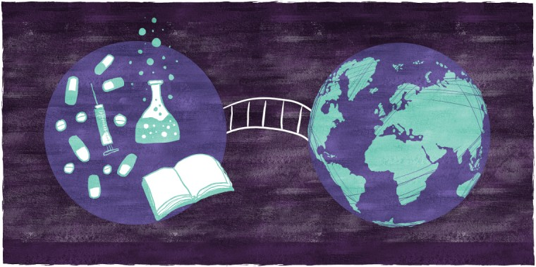 Bridge between science and the world
