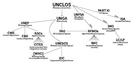 marine governance chart