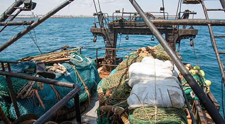fishing nets from the Greko