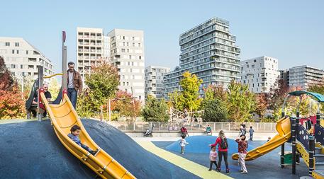 Clichy-Batignolles playground