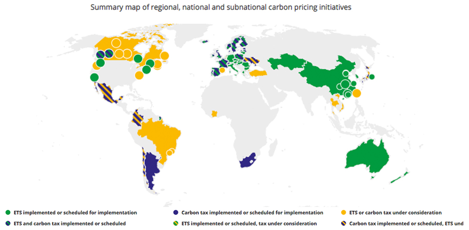 carbon pricing interactive