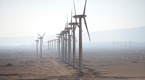 Zafarana wind farm clean energy