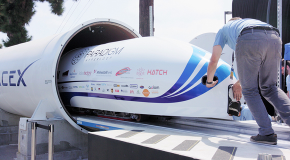 hyperloop tube and capsule aerodynamic, energy saving design