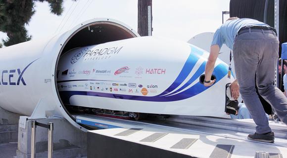 hyperloop tube and capsule aerodynamic, energy saving design