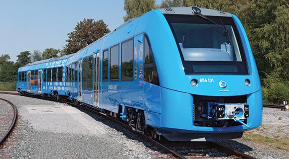 hydrogen fuel train