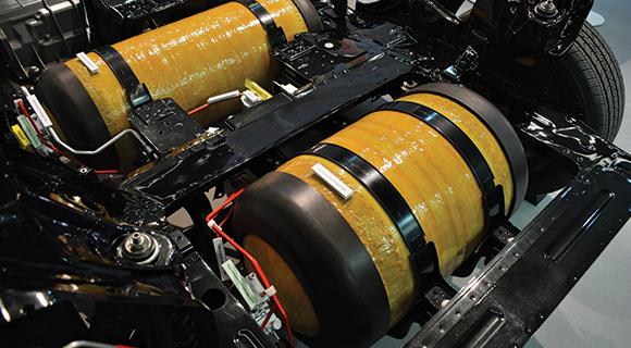 hydrogen fuel battery