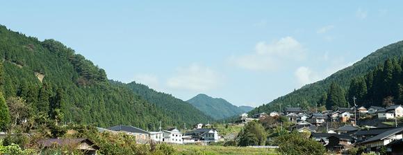 Nishiawakura Japan reforestation biodiversity