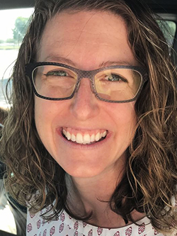 NEW Water's watershed specialist Erin Houghton