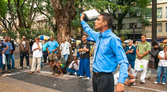 Brazil evangelical preacher