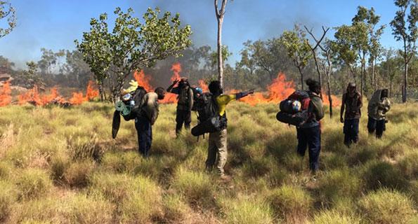 "Uunguu Rangers on five-day ""fire walk"""