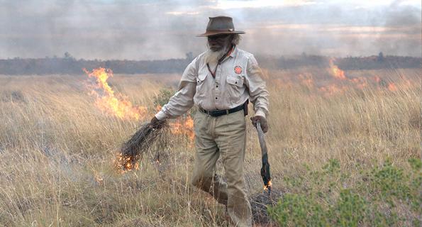 Minyawu Miller, and elder in the Punmu Aboriginal Community