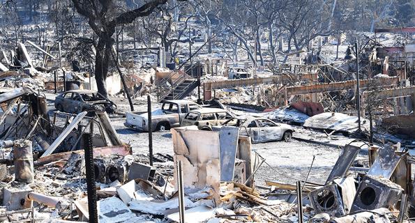 Fountaingrove Fire Aftermath - Santa Rosa CA