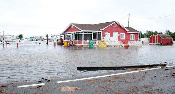 climate change, Lewes Beach, flooding