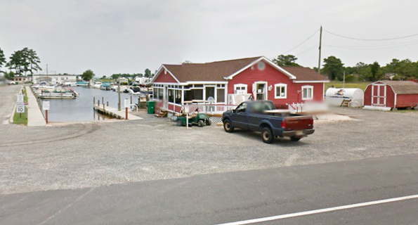 Along the Atlantic coast, places such as Lewes, Delaware, are experiencing increased flooding. Here, part of Long Neck, an area south of Lewes, is seen before and after flooding. Photo courtesy of Cape Gazette
