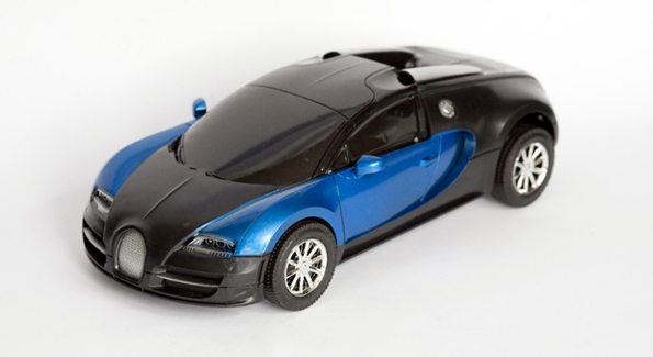 toy car with PBDEs