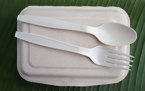 bioplastic eating utensils