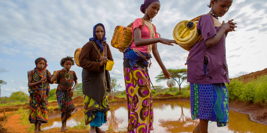 women and climate change in Africa