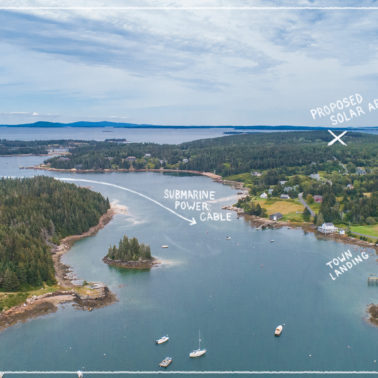 Does this tiny island off the coast of Maine hold the answer to the future of electricity?