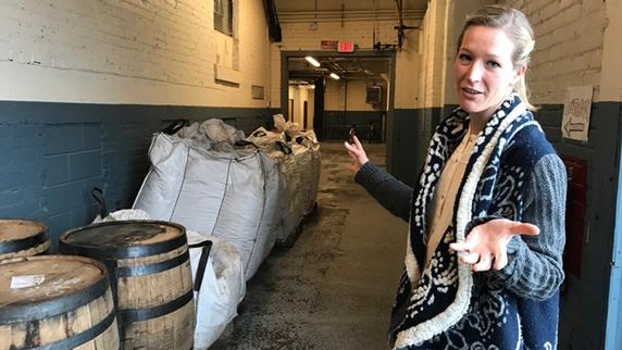Vikre Distillery president Emily Vikre