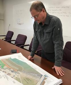 Duluth construction supervisor Mike LeBeau