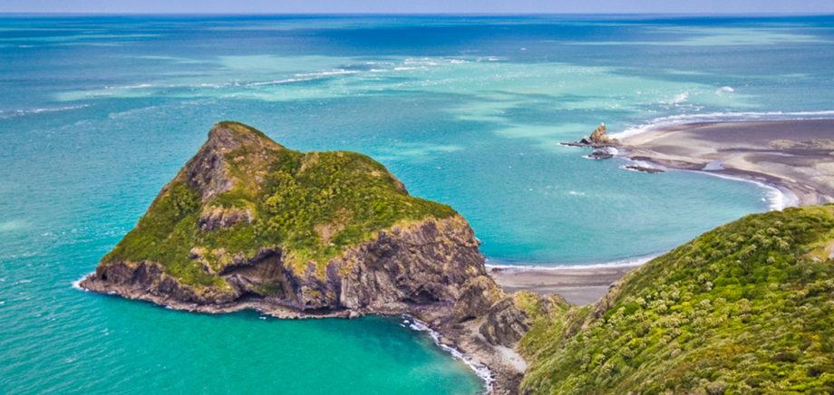 Waitākere Ranges aerial photo