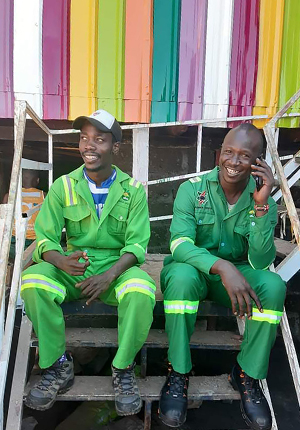 Kibra Green founders Yajub Jaffar and Alfy Ayoro