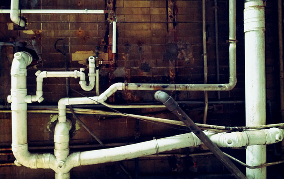 old water pipes