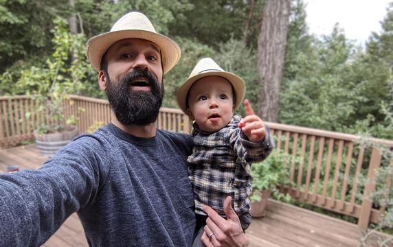 Bogdan Marian and son