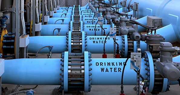 The Carlsbad Desalination Plant in San Diego